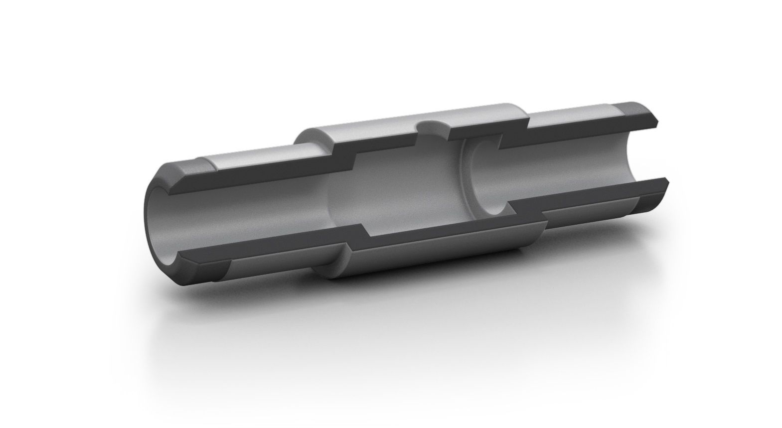 Graphite tube, for extented injection volume, pyrocoated, Segment for Hitachi, 10 pc/PAK