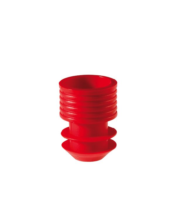 Stopper,11-12 mm, red, 1000 pc/PAK