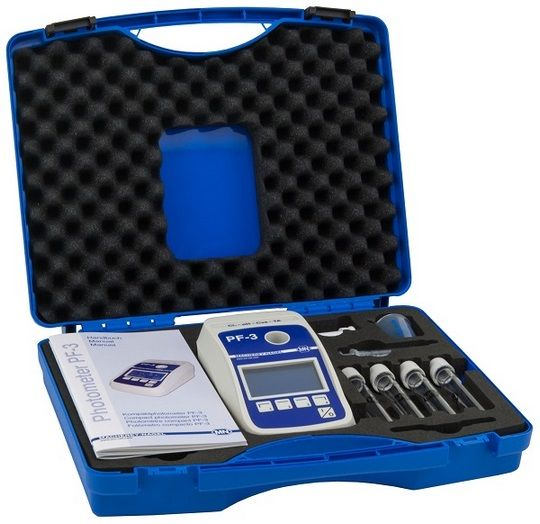 Compact photometer PF-3 Pool, without reagents, in rugged case