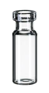 ND11 1,5ml Crimp Neck Vial, 32x11,6mm, clear, wide opening, 10 x 100 pc