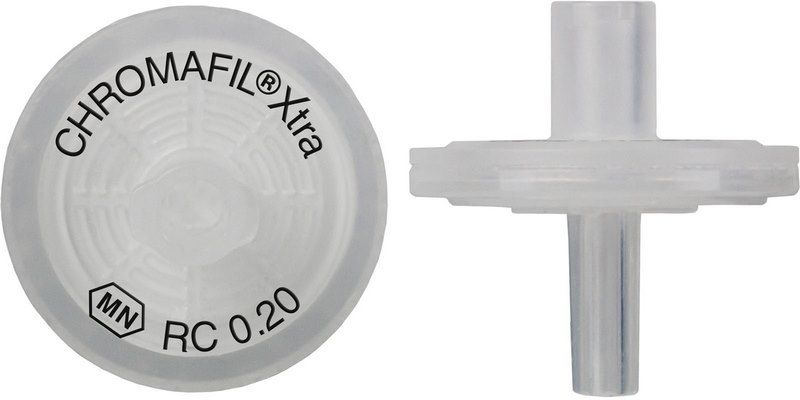 Syringe Filter, Chromafil Xtra, RC, 13 mm, 0,20 µm, PP housing, colorless, labeled