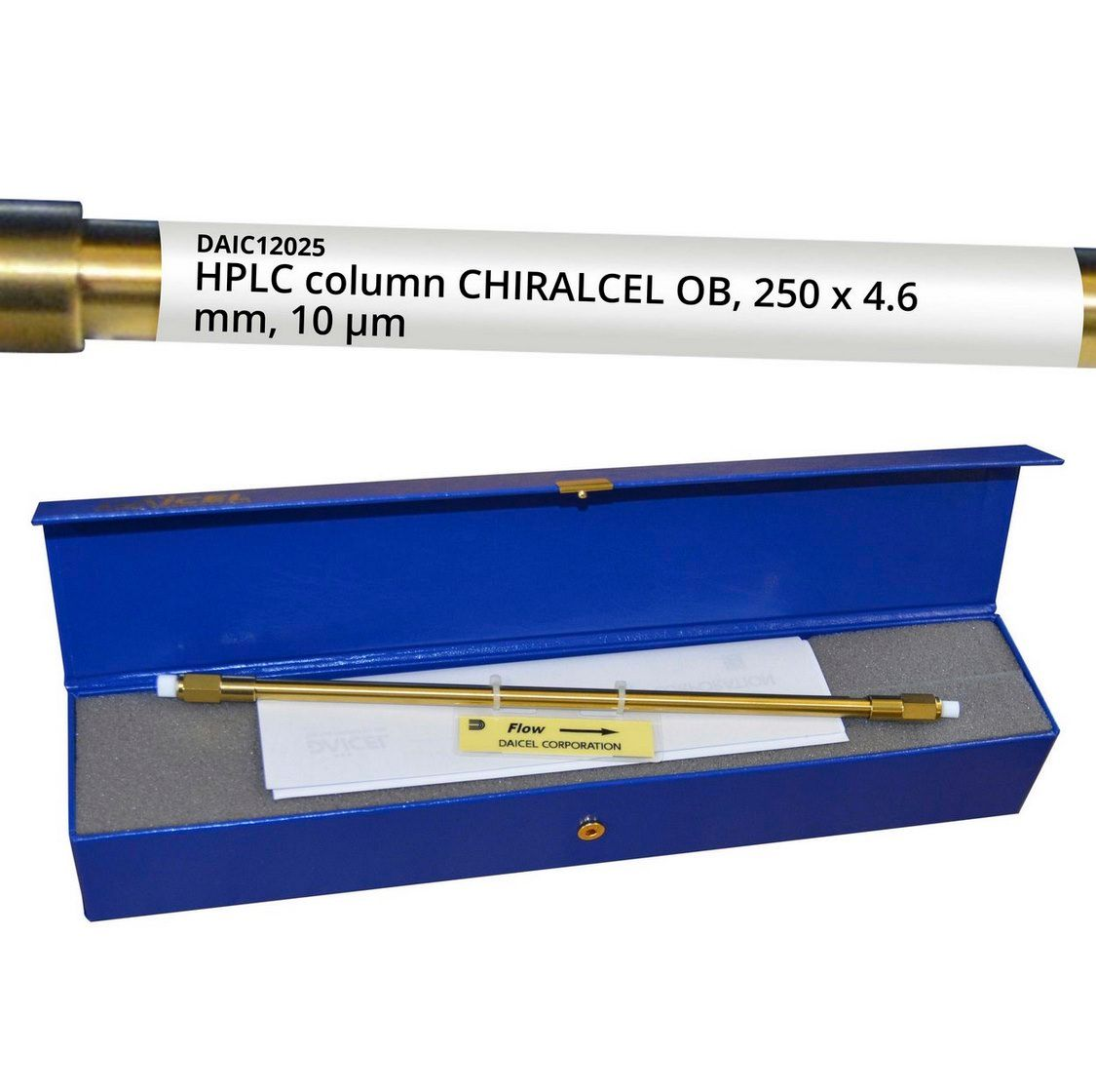 HPLC Column CHIRALCEL OB, 250 x 4.6 mm, 10 µm
