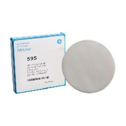 Filter Papers, round, grade 595, 110 mm, 100/pak
