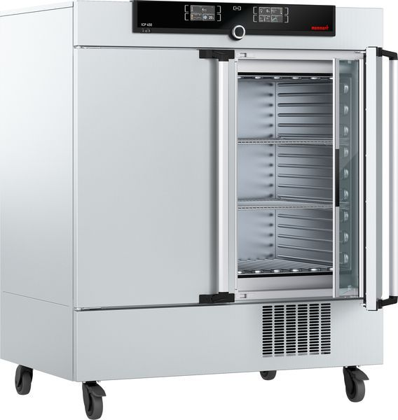 Compressor-Cooled Incubator ICP450, Twin-Display, 449L, -12°C - +60°C with 2 Grids