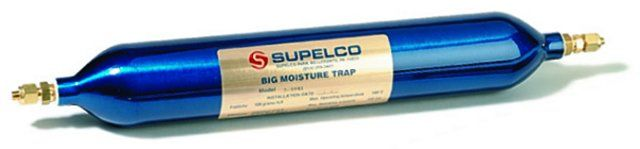 BIG MOISTURE TRAP, 0.75 LITER, 1/4IN FITTINGS