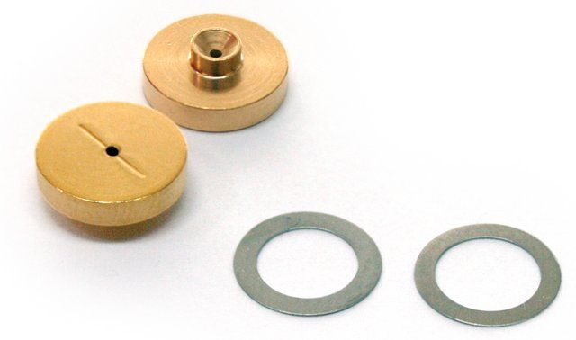 PK2 GOLD PLATED INLET SEALS W/WASHERS FOR HEWLETT PACKARD