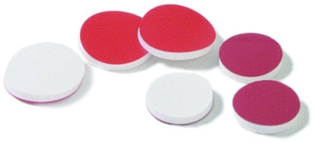 SEPTA RED TEFLON-FACED SILICONE PK/1000